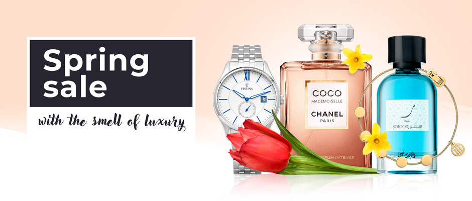 Spring sale with the smell of luxury