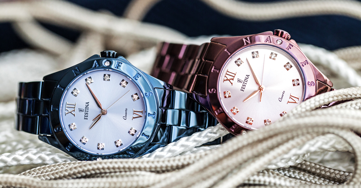 What can they do and what are Festina watches made of?
