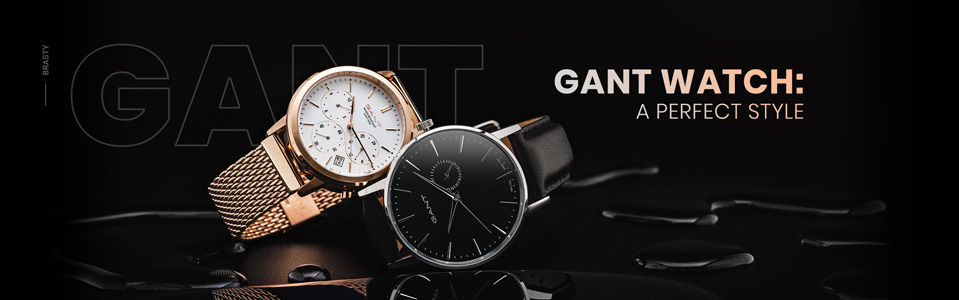 Gant Watches: a perfect style